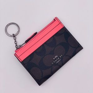 Coach Mini Skinny ID Card Holder